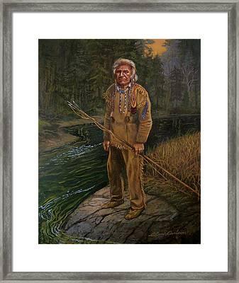 Last Fishing Trip Framed Print by Alan Carlson