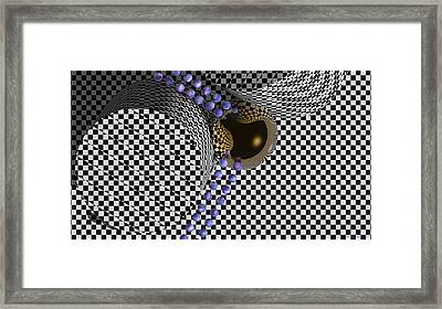 Leaving 2 By 2 Framed Print by Wayne Bonney