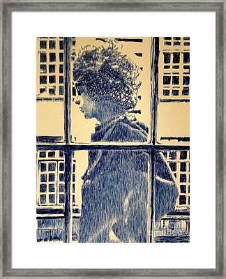Legend Framed Print by Robbi  Musser