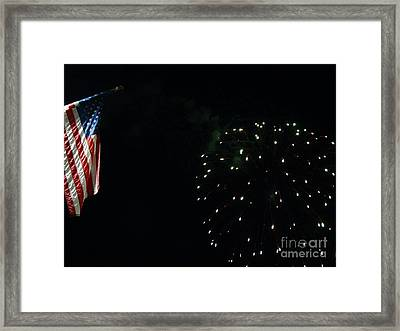 Let Freedom Ring Framed Print by Gina Sullivan