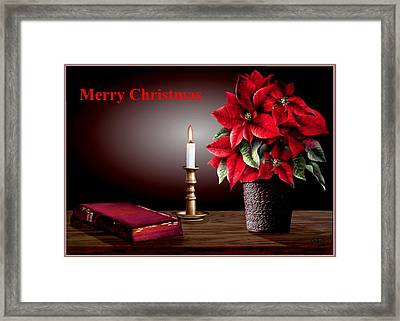 Light Of The World Framed Print by Ron Chambers