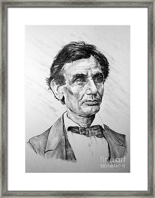 Lincoln Framed Print by Roy Anthony Kaelin