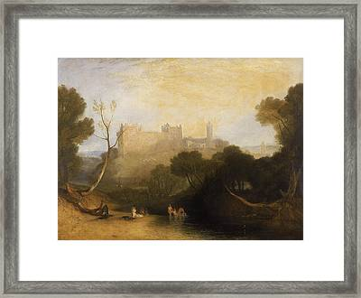 Linlithgow Palace Framed Print by Joseph Mallord William Turner