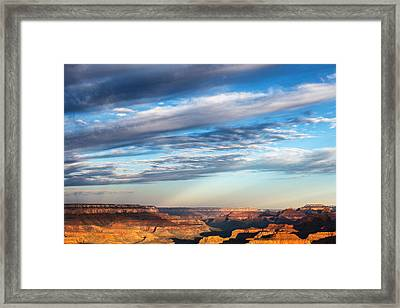Lipan Point Sunrise Framed Print by James Marvin Phelps