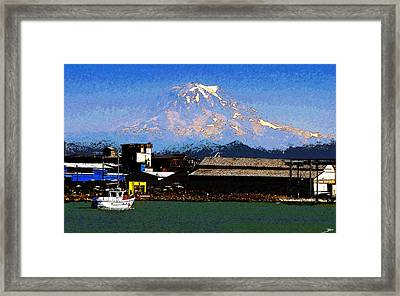 Little Boat Framed Print by David Lee Thompson