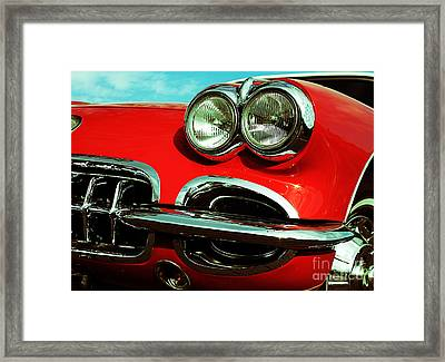Little Red Framed Print by Andreas Berheide