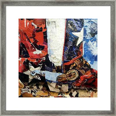 Lone Star Boot Framed Print by Suzy Pal Powell