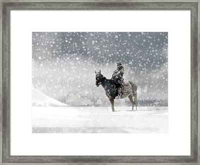 Longest Winter Framed Print by Paul Sachtleben