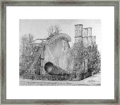 Lord Rosse's Leviathan Framed Print by Roy Anthony Kaelin