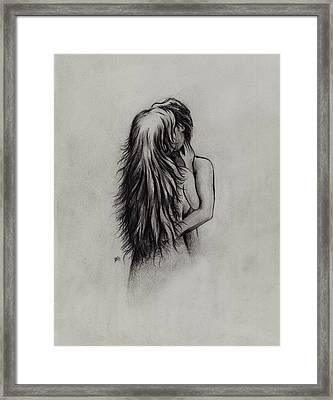 Lovers Framed Print by Rachel Christine Nowicki