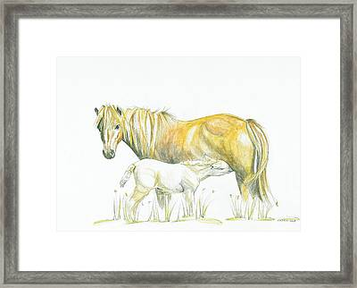 Loving Care Framed Print by Katrin J Oskarsdottir
