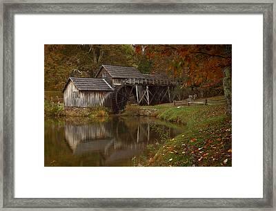 Mabry Mill Framed Print by Jonas Wingfield