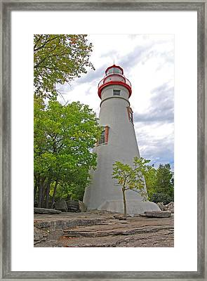 Marblehead Framed Print by Peter  McIntosh