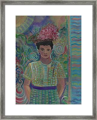 Maria Framed Print by John Keaton