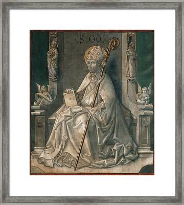 Master Of La Seu Urgell Framed Print by MotionAge Designs