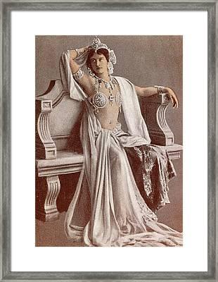 Mata Hari Framed Print by French School