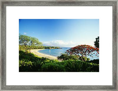 Mauna Kea Beach Framed Print by Peter French - Printscapes