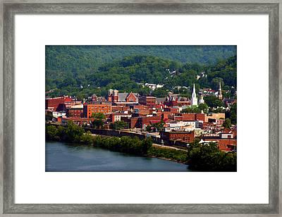 Maysville Kentucky Framed Print by Susie Weaver