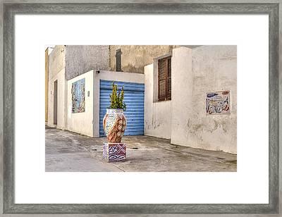 Mazara Del Vallo - Sicily Framed Print by Joana Kruse