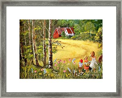Memories For Mom Framed Print by Marilyn Smith