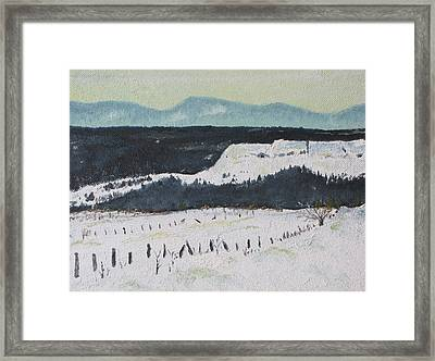 Mid March In The Appalachians  Framed Print by Francois Fournier