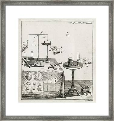 Mineral Properties, 18th Century Framed Print by Middle Temple Library