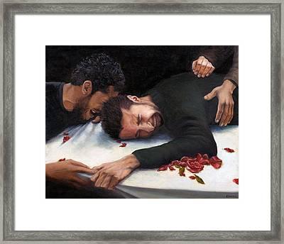 Mission Accomplished Framed Print by Nancy  Ethiel