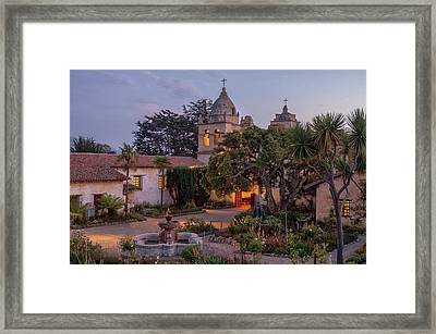 Mission Church Framed Print by Christian Heeb