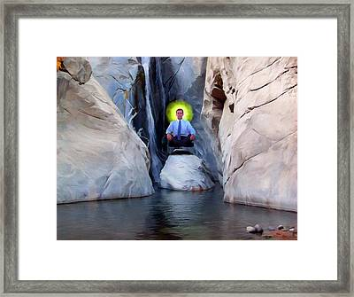 Moment Of Clarity Framed Print by Snake Jagger