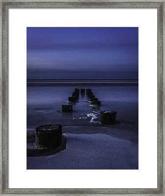 Moon Glow Framed Print by Steve DuPree