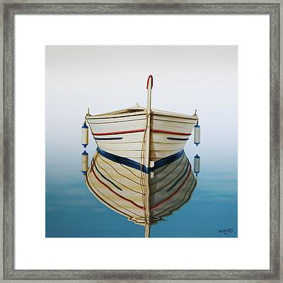 Morning Sun On Prow Framed Print by Horacio Cardozo