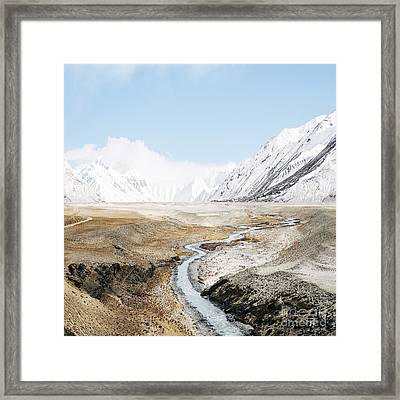 Mount Everest Framed Print by Setsiri Silapasuwanchai