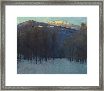 Mount Monadnock Framed Print by Abbott Handerson Thayer