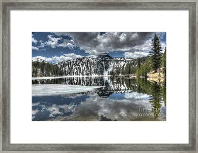 Mountain Reflections Framed Print by Thomas Todd