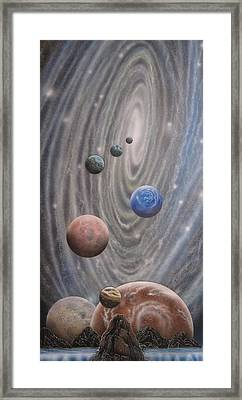 Multiverse 584 Framed Print by Sam Del Russi