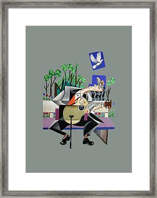 Music A Gift From The Holy Spirit Framed Print by Anthony Falbo
