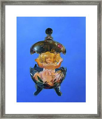 My Special Person Framed Print by Weiyu Xia