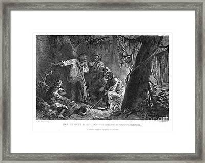 Nat Turner (1800-1831) Framed Print by Granger