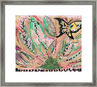 Natural Emergence Framed Print by Anne-Elizabeth Whiteway