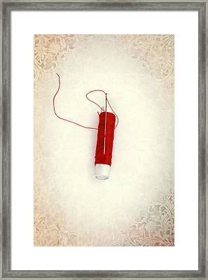 Needle And Thread Framed Print by Joana Kruse