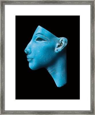 Nefertiti Framed Print by Egyptian School