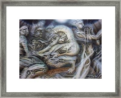 Neglect Framed Print by David Frantz