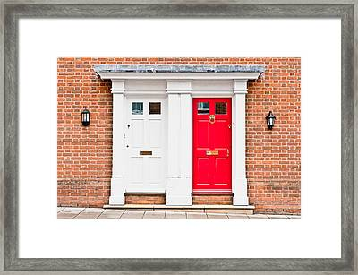 Neighbours Framed Print by Tom Gowanlock