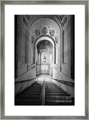 New York Public Library Framed Print by Inge Johnsson