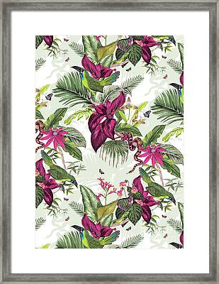 Nicaragua Framed Print by Jacqueline Colley