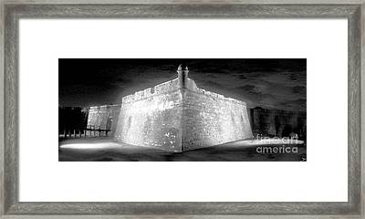 Night At The Castillo Framed Print by David Lee Thompson