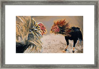 No Awk Framed Print by Noble Richardson