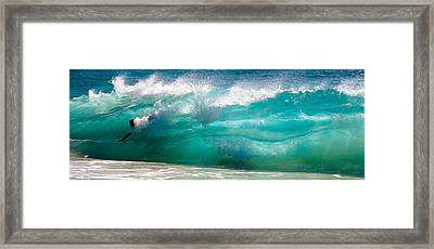 No Limits Framed Print by Ron Regalado