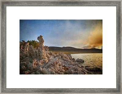 Not So Far  Framed Print by Laurie Search