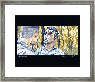 O' Brother Where Art Thou Framed Print by Mark Benton